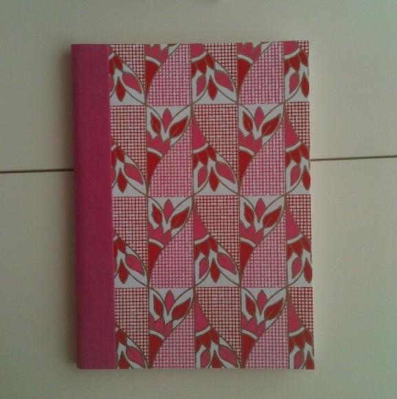 Notebook Pink Flower