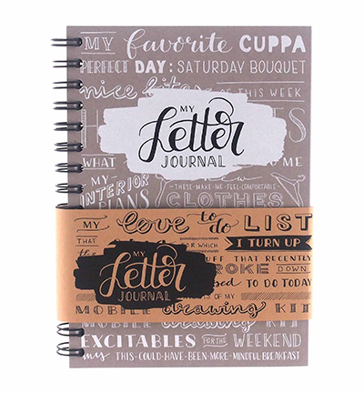 My Letter Journal Taupe