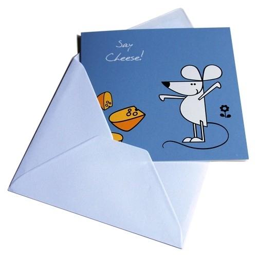 Greeting Card - Say Cheese