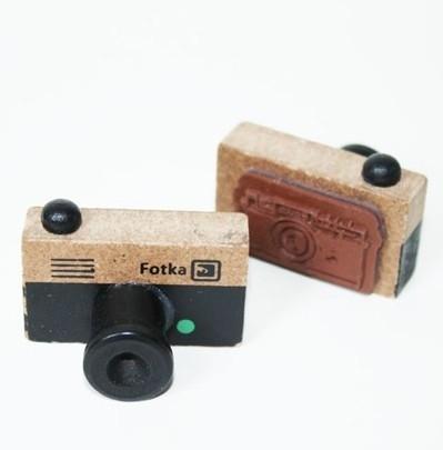 Stempel Fotka Camera