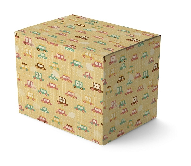 Pastel Wrapping Paper - Auto's