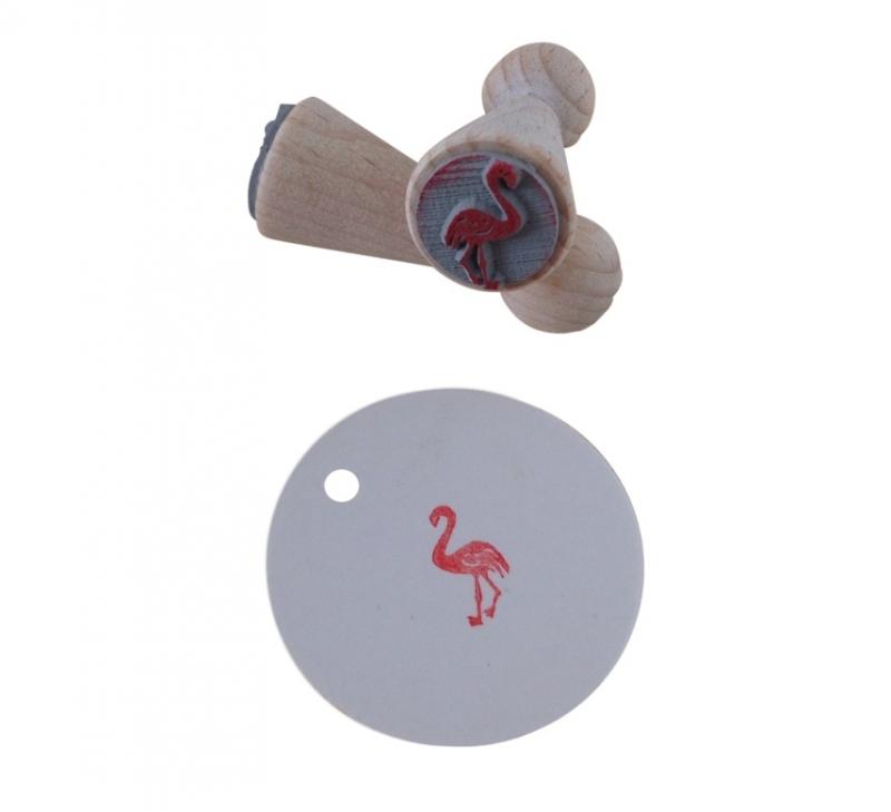 Mini stempel - Flamingo