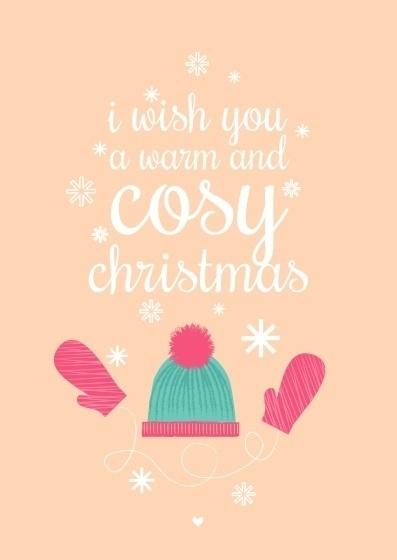 Postcard Cosy Christmas