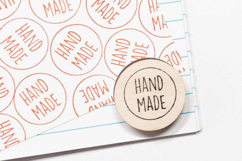 Stempel Rond Handmade Studio Maas