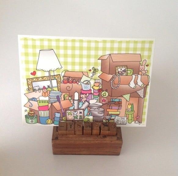 Postkaart verhuizen