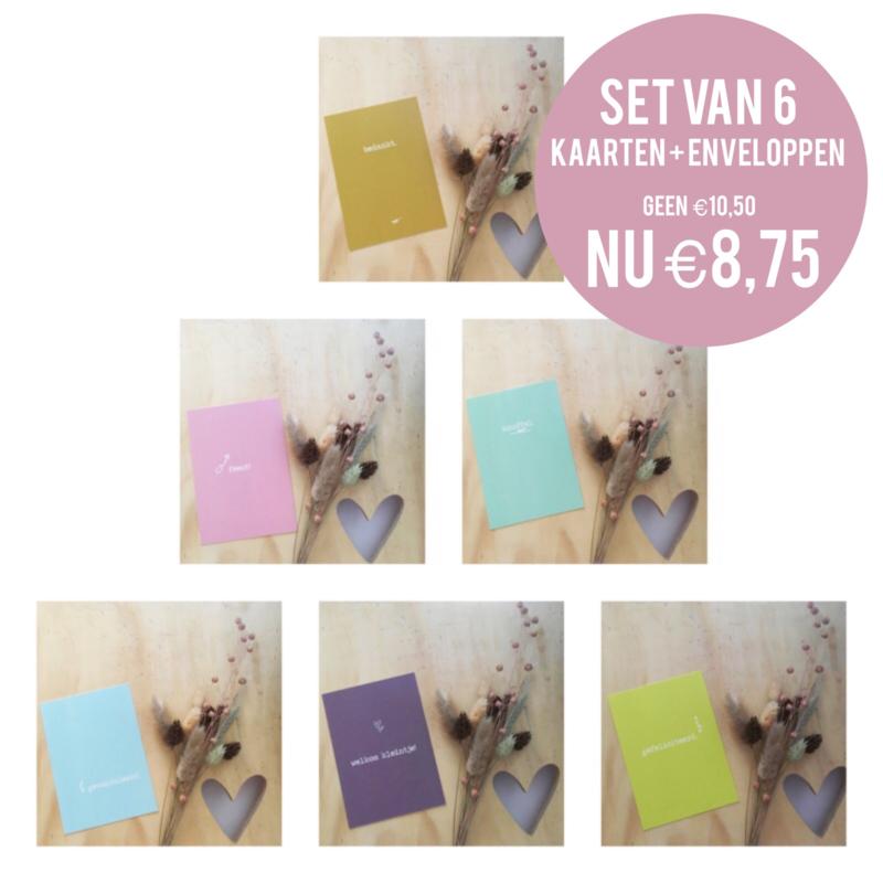 Kaarten set