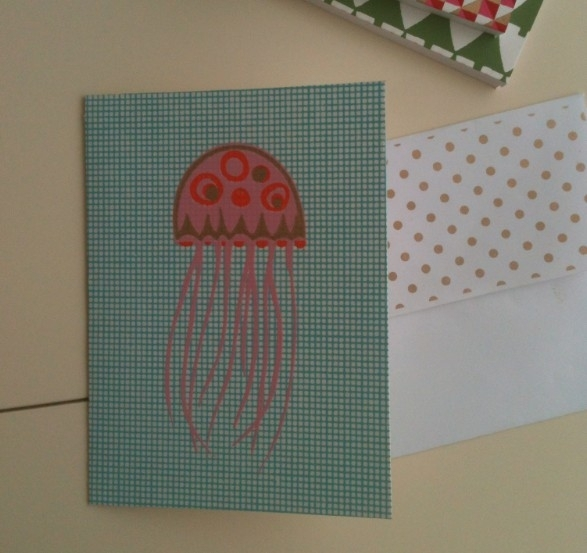 Card Jelly Fish