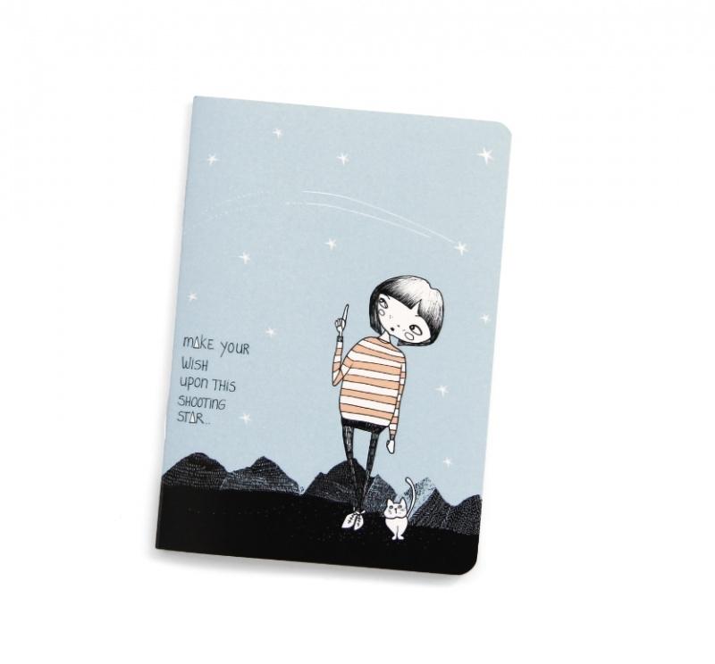 """Notebook A6 """"make a wish"""""""