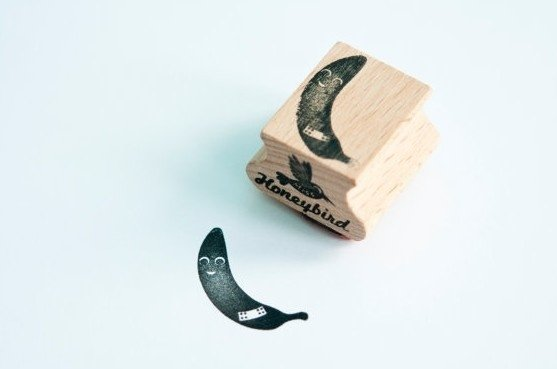 Stempel Banaan met pleister