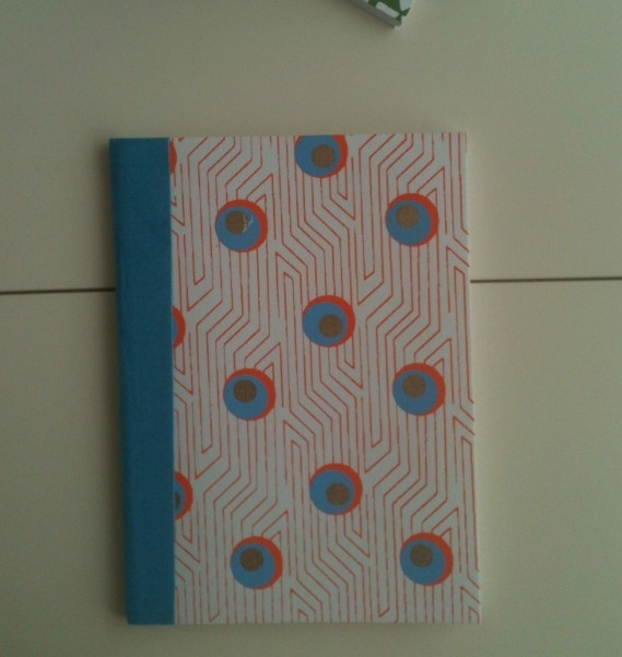 Notebook Blue Stripe & Dot