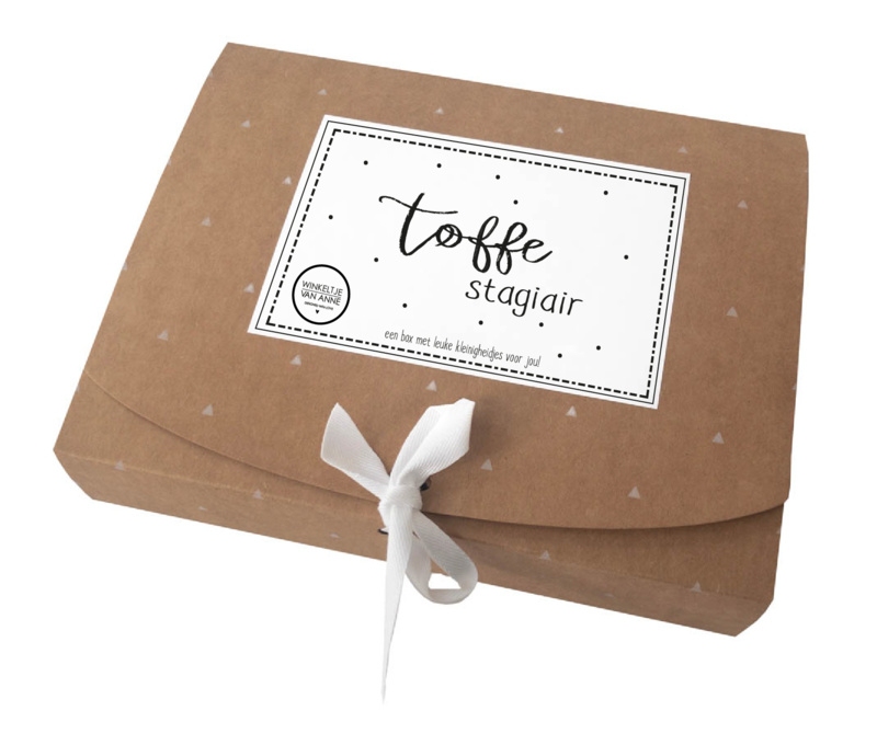 Giftbox Toffe stagiair