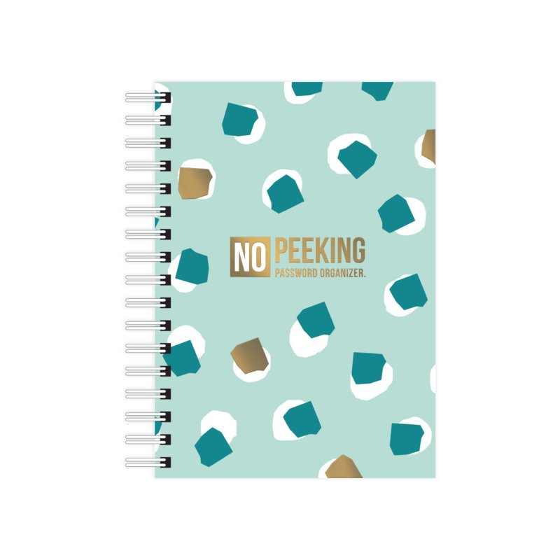 A6 Notebook softcover No Peeking - Password organizer