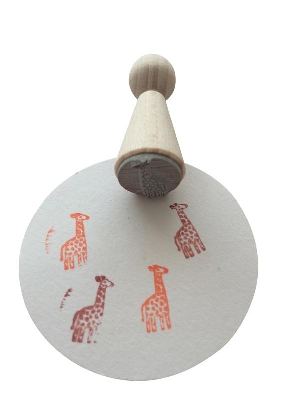 Mini Stempel - Giraf