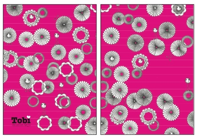 Zomaar Tobi Spirograph - Pink