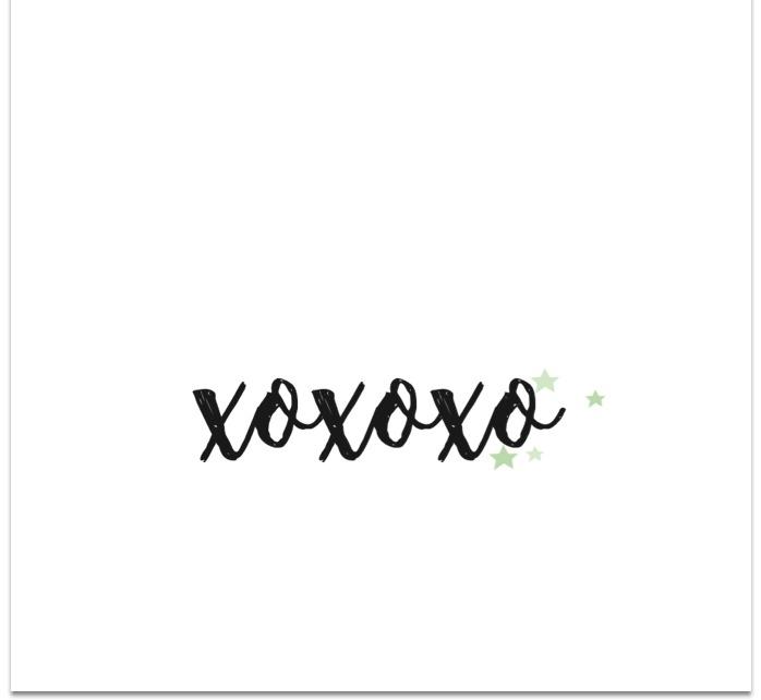 kaart xoxoxo