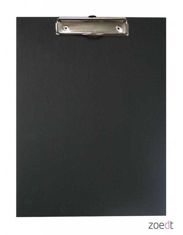 Houten Klembord Zwart - A4
