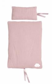 Jabadabado beddenset voor poppenbed/wagen roze