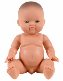 Minikane Paola Reina popje Aziatisch blauwe ogen jongen 34cm