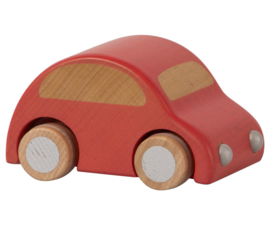 WOODEN CAR - RED
