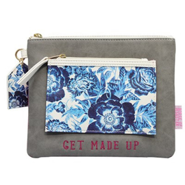 Disaster Designs Petal make up tas