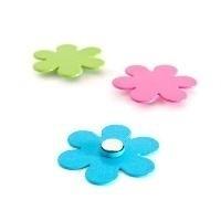 Mini magneten bloemblaadjes