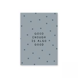 Leonie van der Laan kaart Good enough..