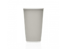 Les Artistes Coffee Cups 45cl Light Grey
