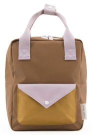Sticky Lemon Backpack Enveloppe Small Sugar brown
