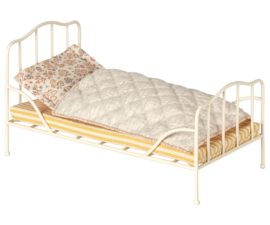 Maileg VINTAGE BED, MINI - OFF WHITE
