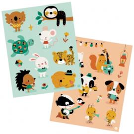 Bora stickers (2 vellen)