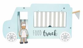 Jabadabado Houten foodtruck met accessoires