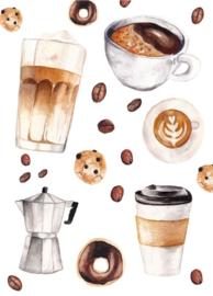 Fritsy kaart koffies