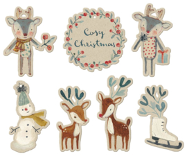 Maileg COSY CHRISTMAS, GIFT TAGS 14 PCS.
