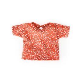 Nuki-Nuby poppenshirt shirtje terra