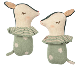 Maileg BAMBI RATTLE - DUSTY MINT