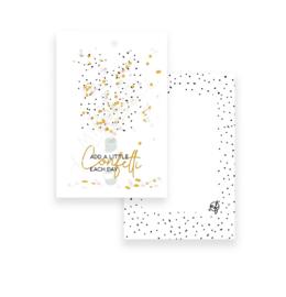 Mientje Frobel Cadeaukaartje confetti