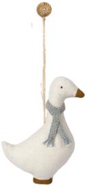 Maileg Goose ornament blue