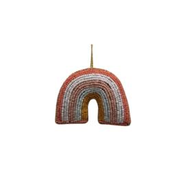 À la Collection Kerst(decoratie)hanger kralen regenboog