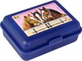 Die spiegelburg paardenvriend broodtrommel blauw