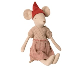 Maileg CHRISTMAS MOUSE, MEDIUM - GIRL