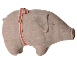 Maileg PIG W. GREY, SMALL