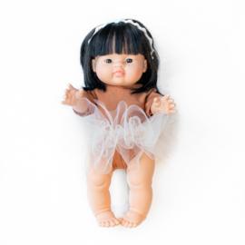 Nuki-Nuby poppen ballet setje roest