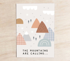 Leonie van der Laan The mountains are calling