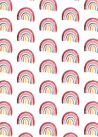 Fritsy kaart regenboog print