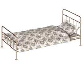 Maileg gold vintage bed medium - metalen bed medium goudkleurig