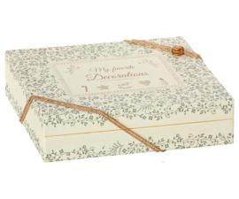 Maileg CHRISTMAS DECORATION BOX