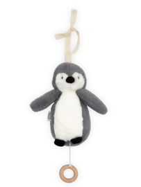 Jollein muziekhanger pinguïn storm grey
