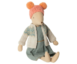 Maileg WINTER MOUSE, MEDIUM - GIRL