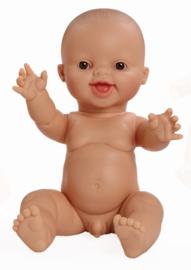 Paola Reina Pop Gordi jongen (lachend), ongekl. 34cm