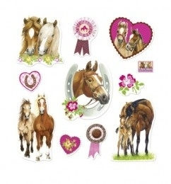 Paardenvriend stickers
